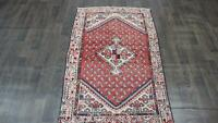 ANTIQUE TRADITIONAL 100% WOOL HANDMADE RUGS ORIENTAL CARPETS 157 X 100 CM