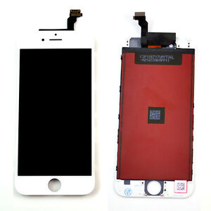 """White black LCD touch screen display for IPhone 6 4.7"""" inch replacement parts"""