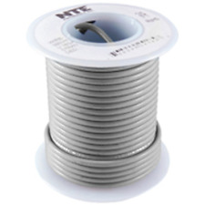 NTE Electronics WHS20-08-1000 HOOK UP WIRE 300V SOLID 20 GAUGE GREY 1000'