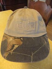 Yellow Freight Trucking YRC Camouflage Adjustable Cap Hat K-Products Trucker OTR