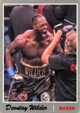 Boxing Anthony AJ Joshua v Deontay Wilder Stand Up Premium Card Cake Toppers