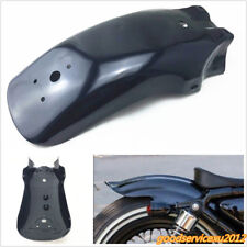 High Quality Black Metal Motorcycles Bikes Rear Fender Mudguard Guard Universal