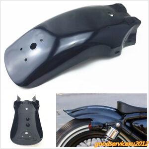 High Quality Black Metal Motorcycles Bikes Rear Fender Mudguard Guard Universal