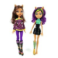 Monster High Doll CLAWDEEN WOLF Wave 2 & 3 Signature w/ Outfit Shoes Mattel LOT