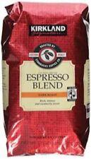Kirkland Signature Starbucks Espresso Blend Dark Roast Whole Bean Coffee 2LB