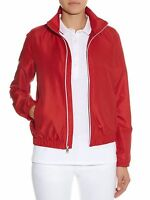 NEW VICTORINOX RED WOMEN'S SWISS ARMY LUGANI WINDBREAKER JACKET SIZE M