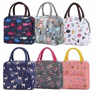 Insulated Handbag Picnic Lunch Box Bag Fresh Keeping Cooler Food Storage