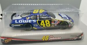 NEW Winner Circle NASCAR 1:24 Scale Racing Jimmie Johnson 48 Stock Car