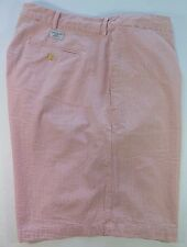 Vineyard Vines Shep & Ian All Cotton Pink White Striped Casual Shorts Size 40/42