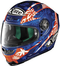 X-Lite X803 D.PETRUCCI Cayman Blue & FREE Dark Visor 2020 Motorbike Race Helmet