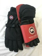 NEW CANADA GOOSE MENS ARCTIC DOWN GLOVES BLACK 5159M SIZE M-XL FREE SHIPPING