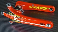 ZZYZX Crank Arms CARBON BB30 Road Bike COMPACT Crankset 172.5mm Made in USA Red