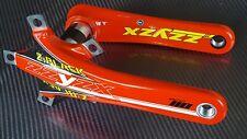 ZZYZX Crank brazos Bielas de carbono BB30 Compacto Bicicleta de carretera 172.5mm Rojo Hecho en EE. UU.