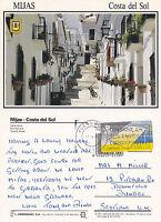 1995 MIJAS COSTA DEL SOL SPAIN COLOUR POSTCARD