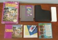 Ultima Exodus Nintendo NES Complete Box Manual Dust Cover Original Game