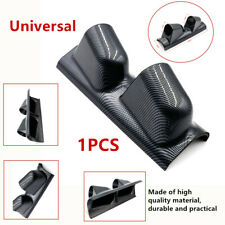 """High Durable 2"" Dual Gauge Cover Mount Holder Carbon Fiber Look ABS For Car SUV"