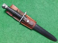 SWISS  BAYONET 1957 WITH SCABBARD AND FROG