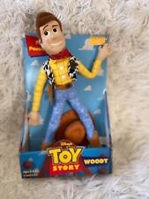 """Toy Story Woody 15"""" Soft Doll - Hasbro 1996 in Original Packaging"""
