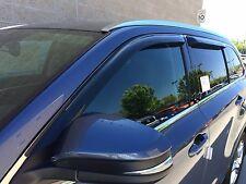 Tape-on Vent Visors 4 piece for a Toyota Highlander 2014 - 2018