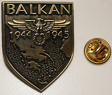 Balkan 1944 1945 Adler Feldzug Military l Anstecker l Abzeichen l Pin 125