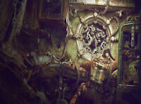 Steampunk Bioshock Canvas Wall Art Picture Print ~ VARIOUS SIZES