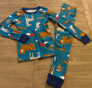 Carter's Toddler Boy 2 Pc Pj Pajamas Size 5T Woodland Animals ADORABLE Brand New