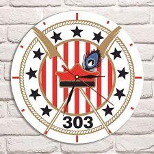 303 Squadron Logo Color design vinyl record wall clock home office collector 3