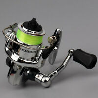 2+1 4.3:1 Ball Bearings Mini Left Right Hand Spinning Fishing Reel Tackle New