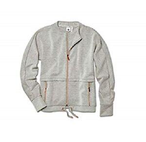 Jacket BMW Ladies Sweat Genuine BMW Grey Blend Select Size 80142454569-573 XS-XL