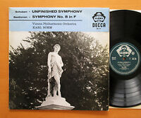 ACL 86 Schubert Unfinished Beethoven Symphony no. 8 Karl Bohm NM/EX Decca Mono