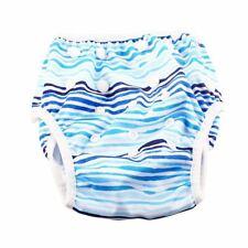 Reusable Swim Nappy Diaper Newborn Baby Toddler Swimming Unisex Boy Girl Blue
