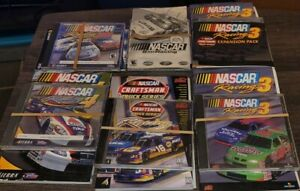 NASCAR Racing PC Games Lot, NASCAR Racing 2002, NASCAR 3, NASCAR 4, NASCAR Sim