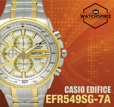 Casio Edifice Chronograph Watch EFR549SG-7A