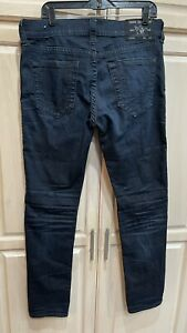 True Religion Rocco Relaxed Skinny Jeans - 34