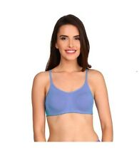 JOCKEY MOULDED CAMI COTTON BRA WITH SOFT CUPS GIVES NATURAL SHAPE- PRINCESS BLUE