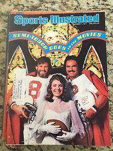 November 7 1977 Burt Reynolds Semi Tough Football Sports Illustrated Magazine