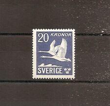 TIMBRE SUEDE SVERIGE SWEDEN POSTE AERIENNE PA LUFTPOST N°7 NEUF** MNH
