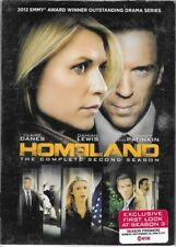 Homeland: The Complete Second Season 2 TWO(DVD, 2013, 4-Disc Set)BRAND NEW
