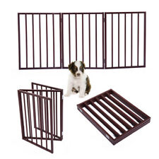 Brown 3 Panel Pet Dog 24