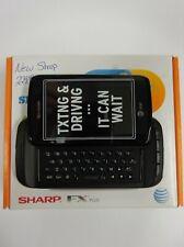 New Sharp FX PLUS - Black (AT&T) Smartphone