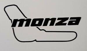 "Monza Race Track 5"" x 2.5"" lambretta vespa Camper Van car  Decal bike"