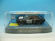 Scalextric C3748 FFC Ford Escort Mk1 Fred Francis Close Havant 2017, mint unused