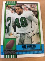 1990 Topps Football Card #101 Wes Hopkins