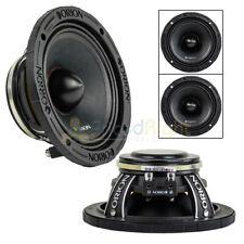 "2 Orion Audio 6.5"" HCCA Mid Range Loud Speakers Pair 1800 Watts 8 Ohm HCCA658NHP"