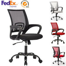Ergonomic Swivel Mid back Computer Office Desk Mesh Chair Heavy Duty Metal Base