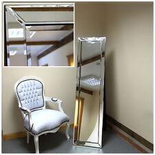 """Lara Modern Standing Cheval Salon Bedroom Floor Mirror Venetian 15"""" X 59"""""""