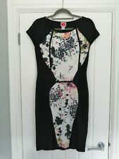 Travel Couture By Heine Bird And Butterfly Print Dress Size UK 10