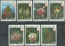 Timbres Flore Nicaragua 1218/21 PA1004/6 o lot 5037
