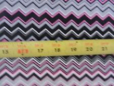 Ric Rack Grey Pink Black Aztec Cute AE Nathan Comfy FLANNEL 0143-299 fabric