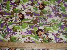 COTTON Fabric  Dora the Explorer   BTY